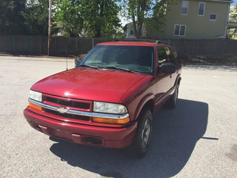 2002 Chevrolet Blazer for sale in Baltimore, MD