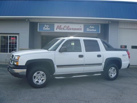 2004 Chevrolet Avalanche for sale in Kokomo IN