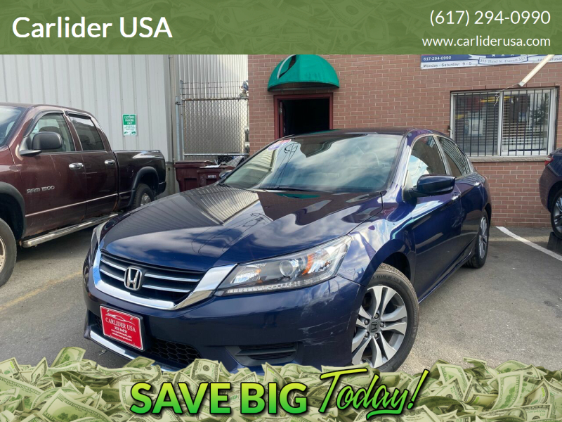 2015 Honda Accord for sale at Carlider USA in Everett MA