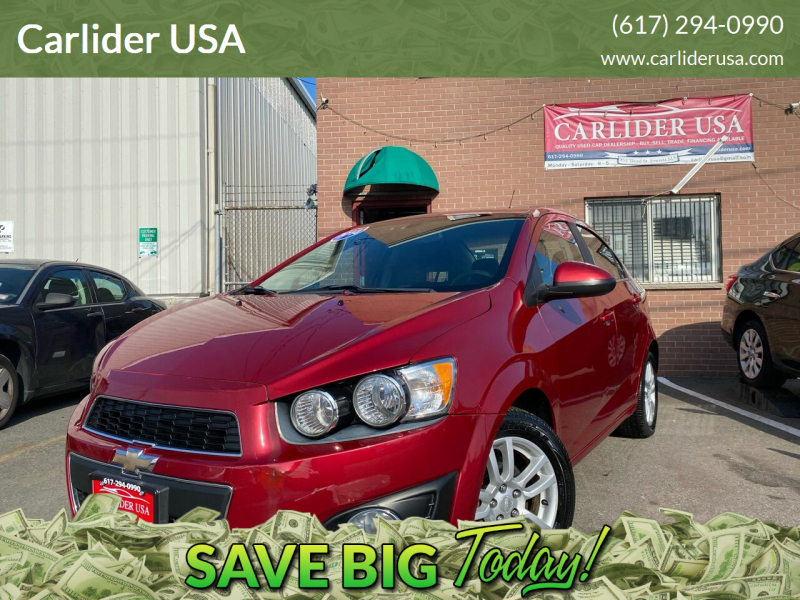 2014 Chevrolet Sonic for sale at Carlider USA in Everett MA