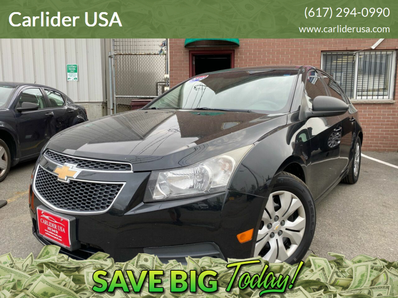 2012 Chevrolet Cruze for sale at Carlider USA in Everett MA