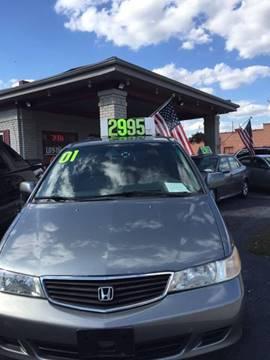 2001 Honda Odyssey for sale in Steger, IL