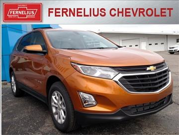 2018 Chevrolet Equinox for sale in Rose City, MI