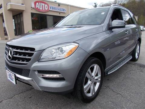 2012 Mercedes-Benz M-Class for sale at Auto Wholesalers Of Hooksett in Hooksett NH