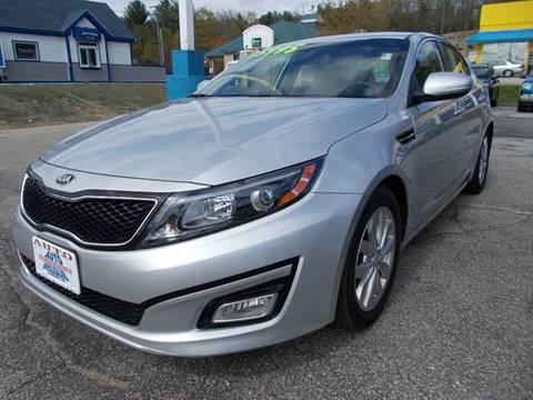 2015 Kia Optima for sale at Auto Wholesalers Of Hooksett in Hooksett NH