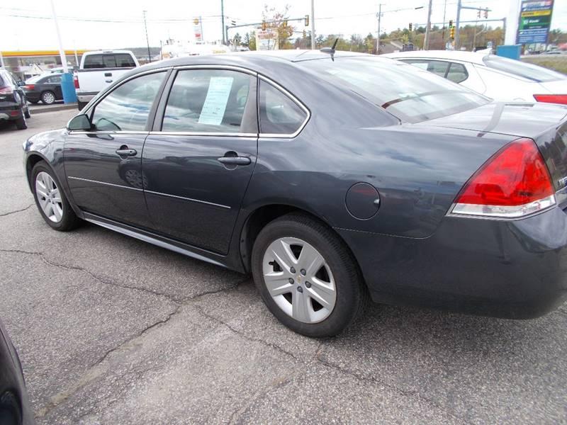 2011 Chevrolet Impala for sale at Auto Wholesalers Of Hooksett in Hooksett NH