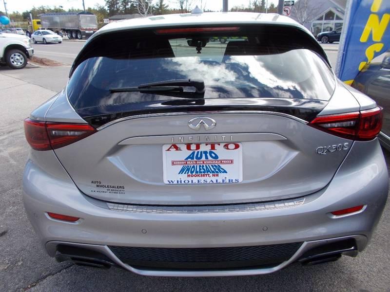 2017 Infiniti QX30 for sale at Auto Wholesalers Of Hooksett in Hooksett NH