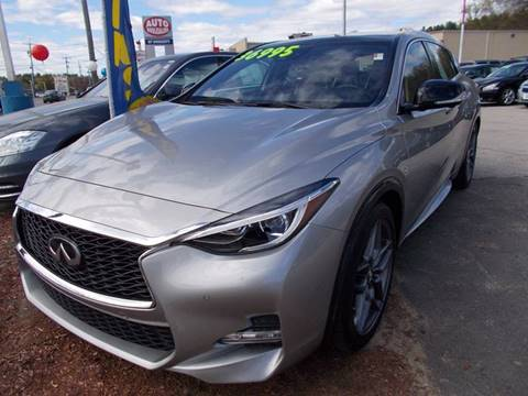 2017 Infiniti QX30 for sale at Auto Wholesalers Of Hooksett in Hooksett NH