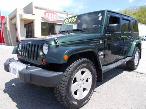 2011 Jeep Wrangler Unlimited for sale at Auto Wholesalers Of Hooksett in Hooksett NH