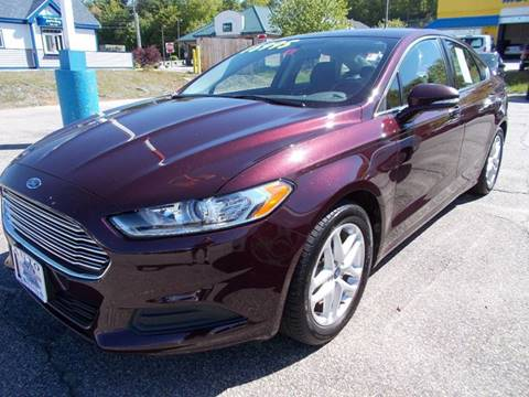 2013 Ford Fusion for sale at Auto Wholesalers Of Hooksett in Hooksett NH