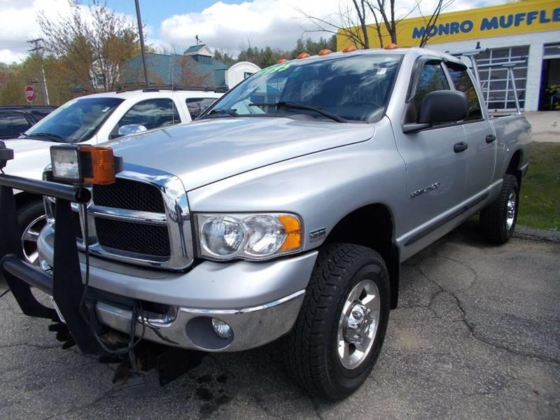 2005 Dodge Ram Pickup 2500 for sale at Auto Wholesalers Of Hooksett in Hooksett NH