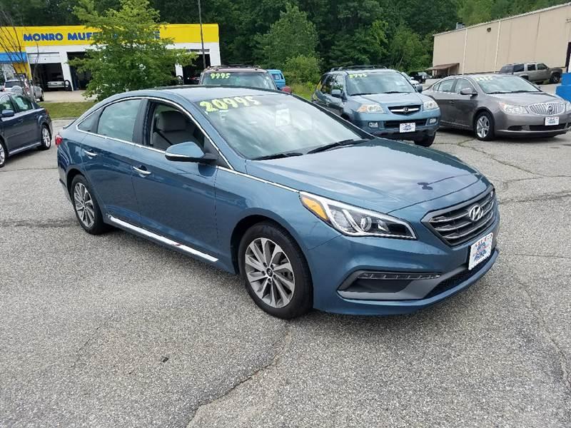 2015 Hyundai Sonata for sale at Auto Wholesalers Of Hooksett in Hooksett NH