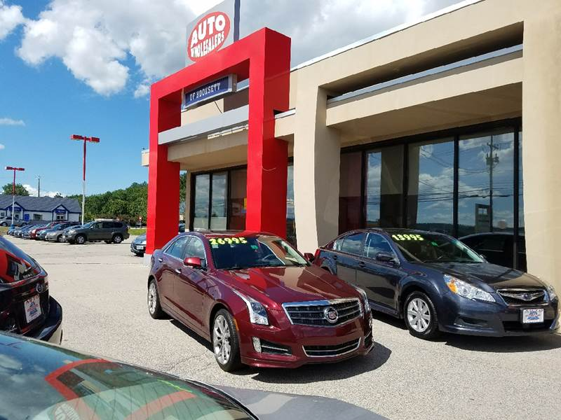 2014 Cadillac ATS for sale at Auto Wholesalers Of Hooksett in Hooksett NH