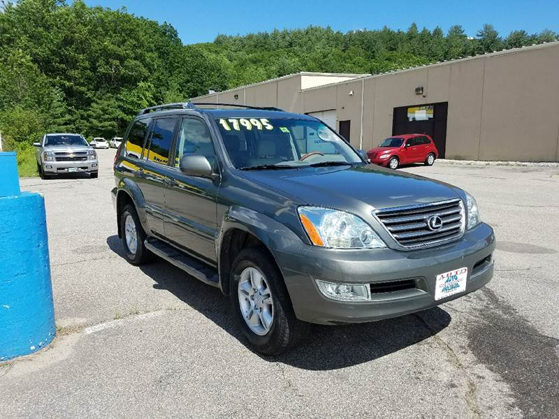 2007 Lexus GX 470 for sale at Auto Wholesalers Of Hooksett in Hooksett NH
