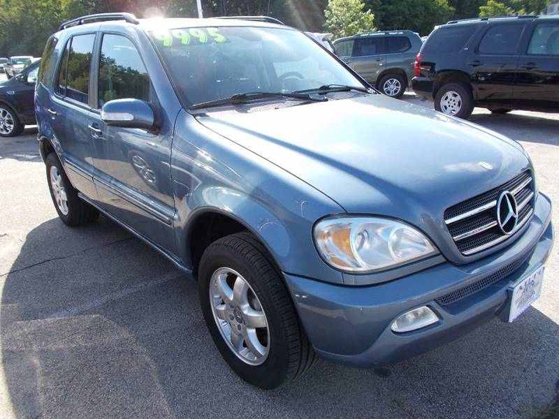 2004 Mercedes-Benz M-Class for sale at Auto Wholesalers Of Hooksett in Hooksett NH