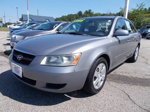 2007 Hyundai Sonata for sale at Auto Wholesalers Of Hooksett in Hooksett NH