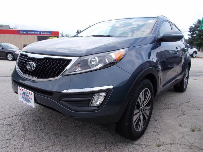 2015 Kia Sportage for sale at Auto Wholesalers Of Hooksett in Hooksett NH