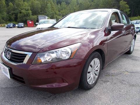 2008 Honda Accord for sale at Auto Wholesalers Of Hooksett in Hooksett NH