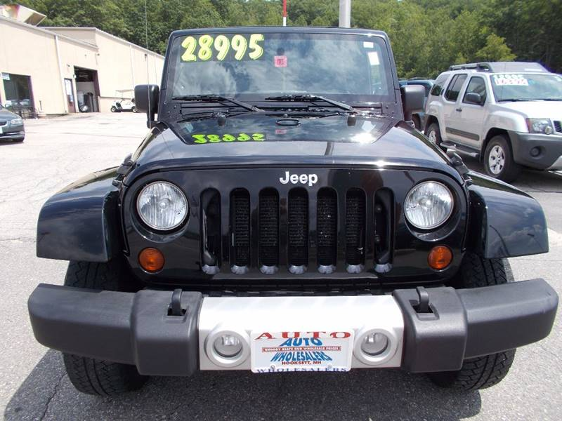 2012 Jeep Wrangler Unlimited for sale at Auto Wholesalers Of Hooksett in Hooksett NH