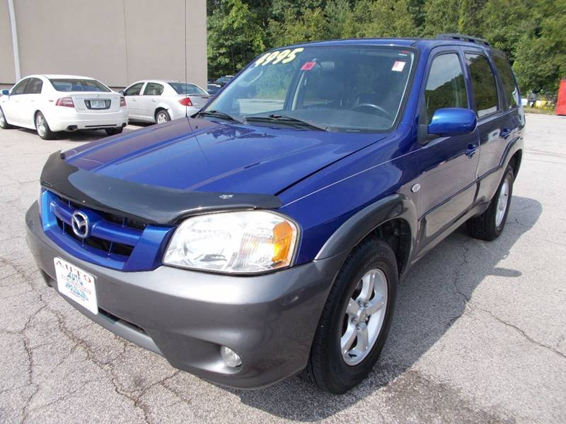 2005 Mazda Tribute for sale at Auto Wholesalers Of Hooksett in Hooksett NH