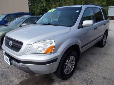 2004 Honda Pilot for sale at Auto Wholesalers Of Hooksett in Hooksett NH