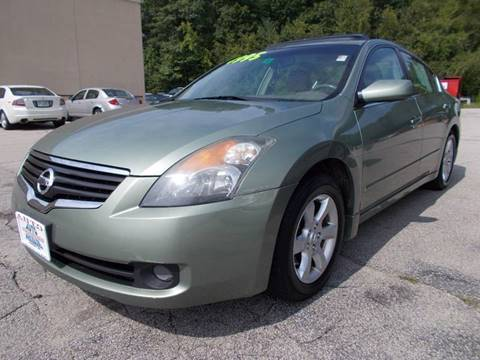 2007 Nissan Altima for sale at Auto Wholesalers Of Hooksett in Hooksett NH