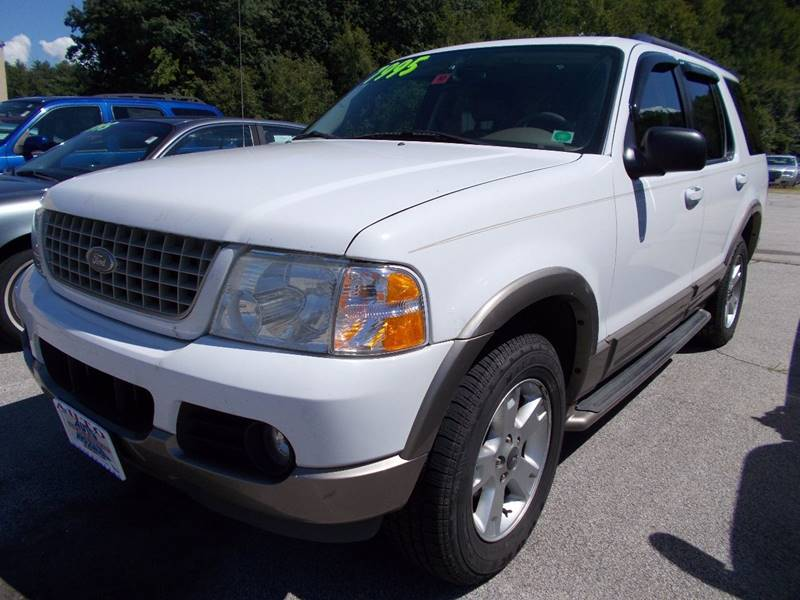 2003 Ford Explorer for sale at Auto Wholesalers Of Hooksett in Hooksett NH