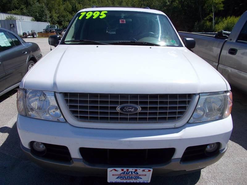 2003 Ford Explorer for sale at Auto Wholesalers Of Hooksett in Hooksett NH