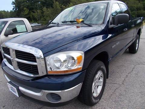 2006 Dodge Ram Pickup 1500 for sale at Auto Wholesalers Of Hooksett in Hooksett NH