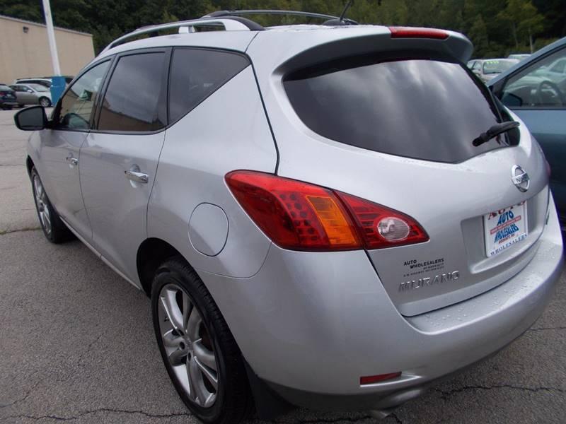 2009 Nissan Murano for sale at Auto Wholesalers Of Hooksett in Hooksett NH
