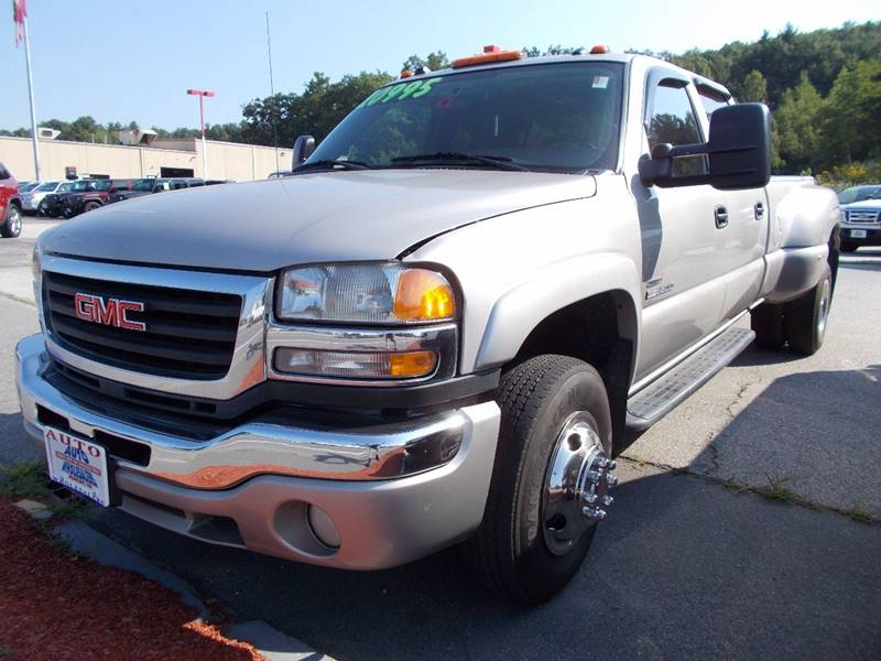 2005 GMC Sierra 3500 for sale at Auto Wholesalers Of Hooksett in Hooksett NH