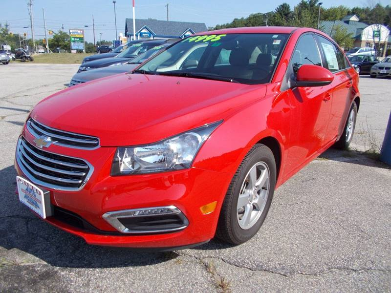 2015 Chevrolet Cruze for sale at Auto Wholesalers Of Hooksett in Hooksett NH