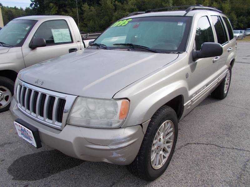 2004 Jeep Grand Cherokee for sale at Auto Wholesalers Of Hooksett in Hooksett NH