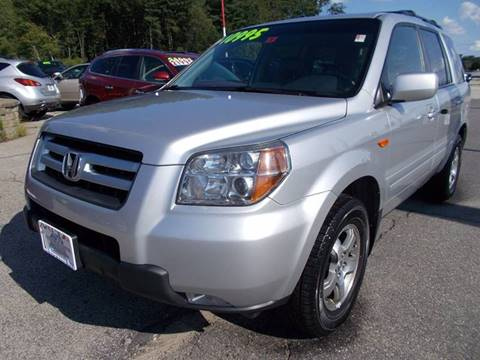 2006 Honda Pilot for sale at Auto Wholesalers Of Hooksett in Hooksett NH
