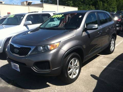 2011 Kia Sorento for sale at Auto Wholesalers Of Hooksett in Hooksett NH