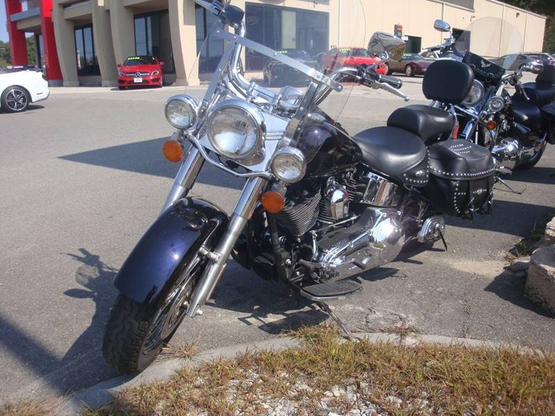 2002 Harley-Davidson FLSTC Herritage Soft Tail for sale at Auto Wholesalers Of Hooksett in Hooksett NH