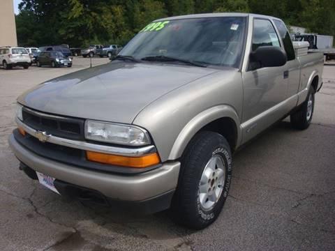 2002 Chevrolet S-10 for sale at Auto Wholesalers Of Hooksett in Hooksett NH