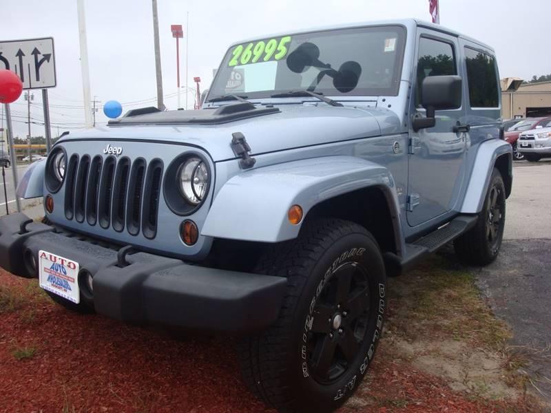 2012 Jeep Wrangler for sale at Auto Wholesalers Of Hooksett in Hooksett NH