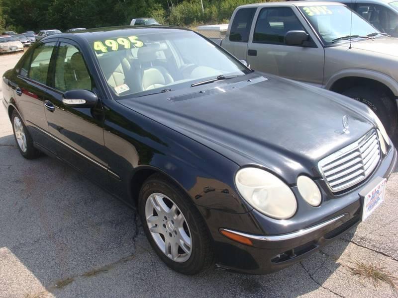 2005 Mercedes-Benz E-Class for sale at Auto Wholesalers Of Hooksett in Hooksett NH