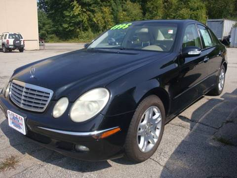 2005 Mercedes-Benz E-Class for sale at Auto Wholesalers Of Hooksett in Hooksett NH
