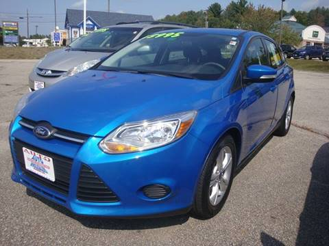 2014 Ford Focus for sale at Auto Wholesalers Of Hooksett in Hooksett NH