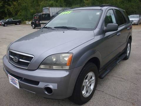 2005 Kia Sorento for sale at Auto Wholesalers Of Hooksett in Hooksett NH