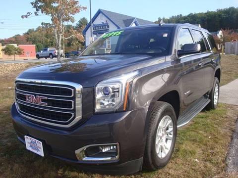 2017 GMC Yukon for sale at Auto Wholesalers Of Hooksett in Hooksett NH