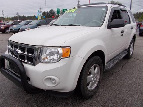 2009 Ford Escape for sale at Auto Wholesalers Of Hooksett in Hooksett NH