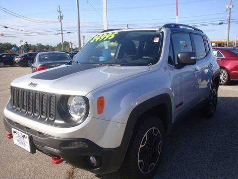 2017 Jeep Renegade for sale at Auto Wholesalers Of Hooksett in Hooksett NH