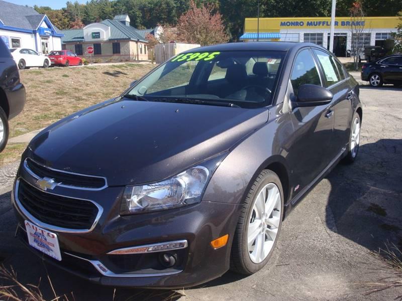 2015 Chevrolet Cruze for sale at Auto Wholesalers Of Hooksett in Hooksett NH