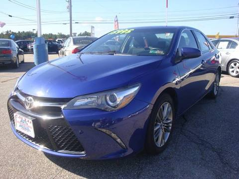 2015 Toyota Camry for sale at Auto Wholesalers Of Hooksett in Hooksett NH