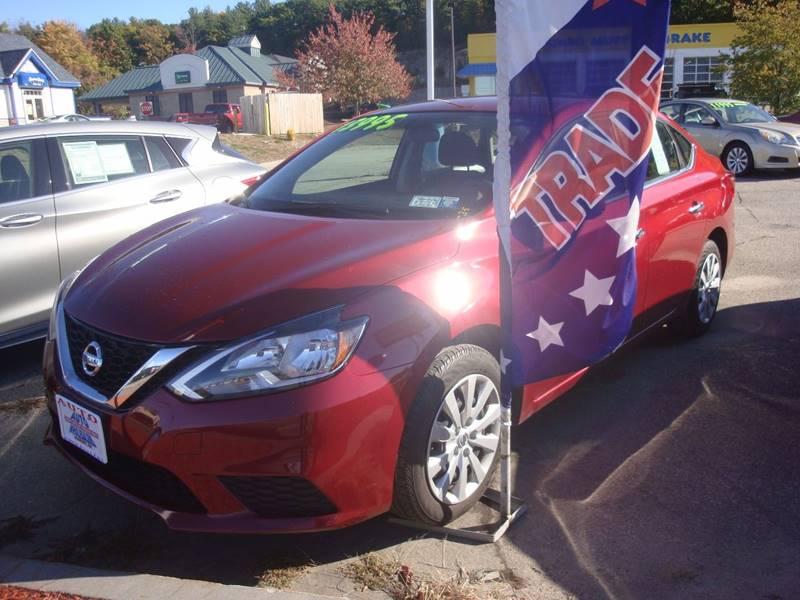 2016 Nissan Sentra for sale at Auto Wholesalers Of Hooksett in Hooksett NH