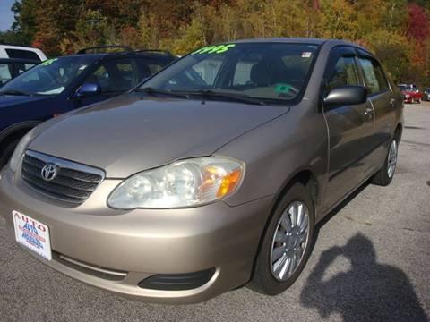 2006 Toyota Corolla for sale in Hooksett, NH