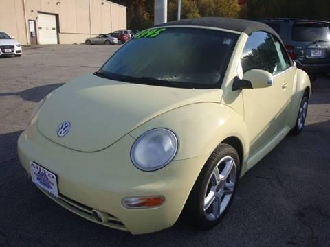 2005 Volkswagen New Beetle for sale in Hooksett, NH